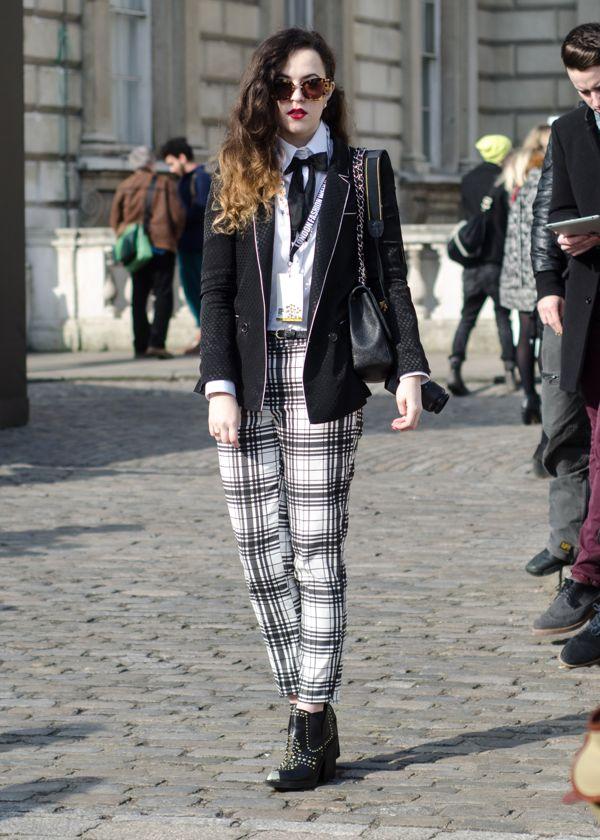 London Fashion Week Aw13 Street Style Day 4 Ldnfashion