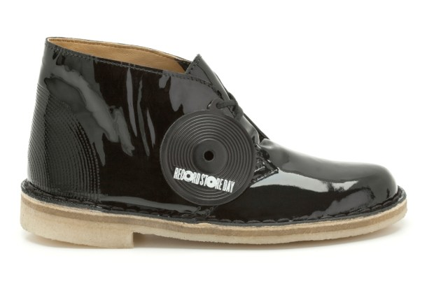 Desert Boot, black patent, womens, £89.00