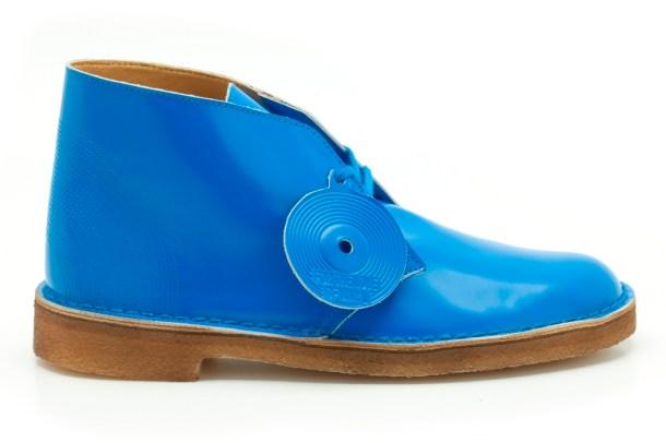 Desert Boot cobalt, mens, £89.00