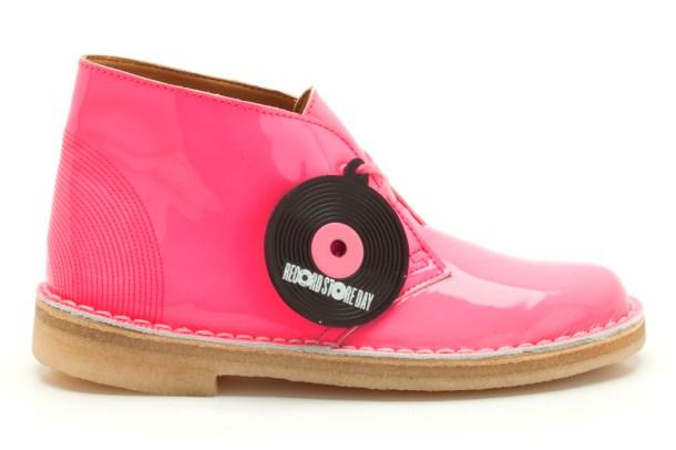 Desert Boot, pink patent, womens, £89.00