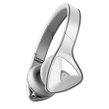 DNA On-Ear Headphones - White & Light Grey
