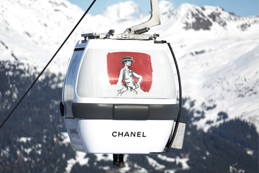 Chanel cable car