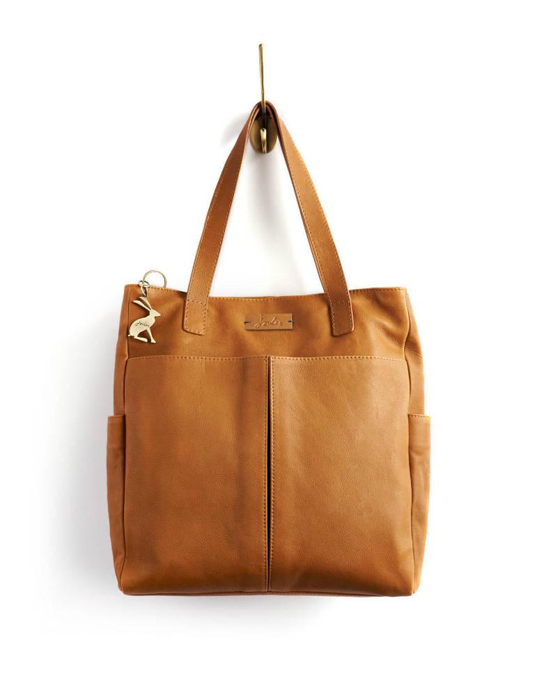 Joules Richmond Leather Shoulder Bag