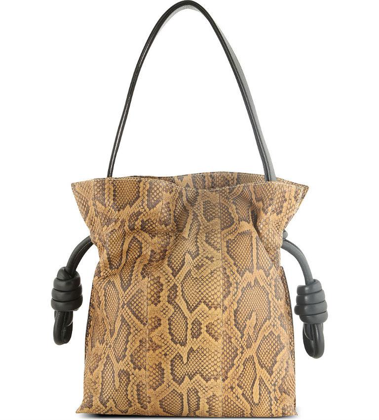 Python Drawstring Bag