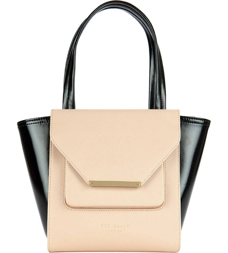 Ted Baker Allira Small Patent Shopper Bag