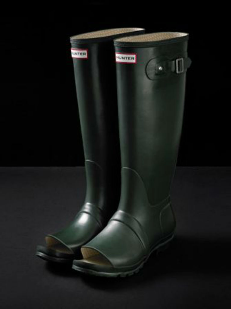hunter-open-toe-wellies