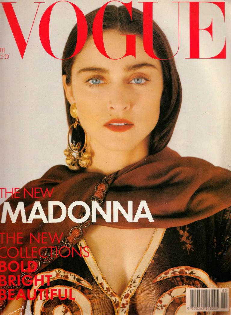 Vogue Magazine Madonna 1989