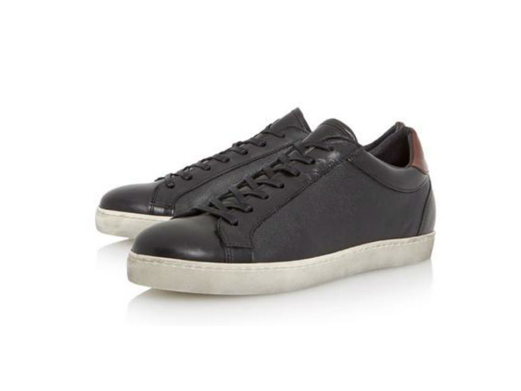 dune london triffic trainers