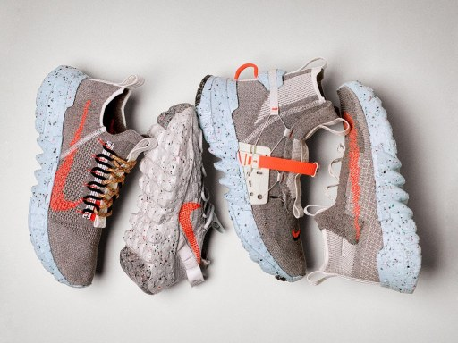 "Nike launches sustainable sneakers made from ""space waste"""