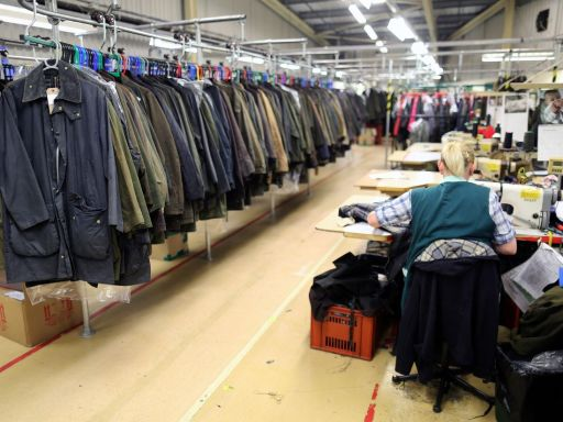 Barbour and Louis Vuitton switch from luxury fashion to producing PPE