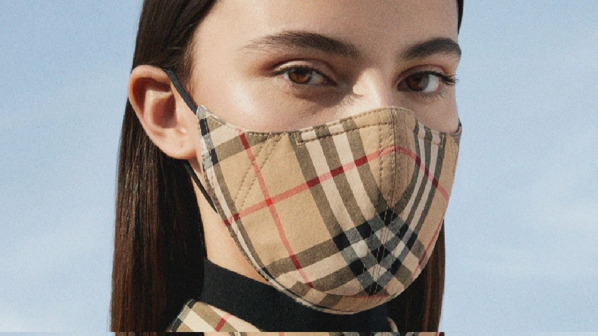 Burberry releases face mask with ...