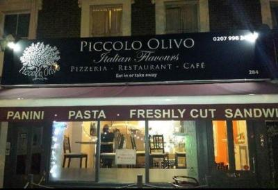Beautiful Pizzas from Piccolo Olivo, Caledonian Road 19