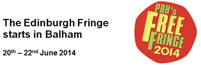 Balham Free Fringe is back this June 29