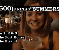 The Port House The Strand - No 1, 2 & 3 of 500 Drinks of Summers 13