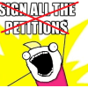 A petition to stop petitions about petitions that no one should petition about 16