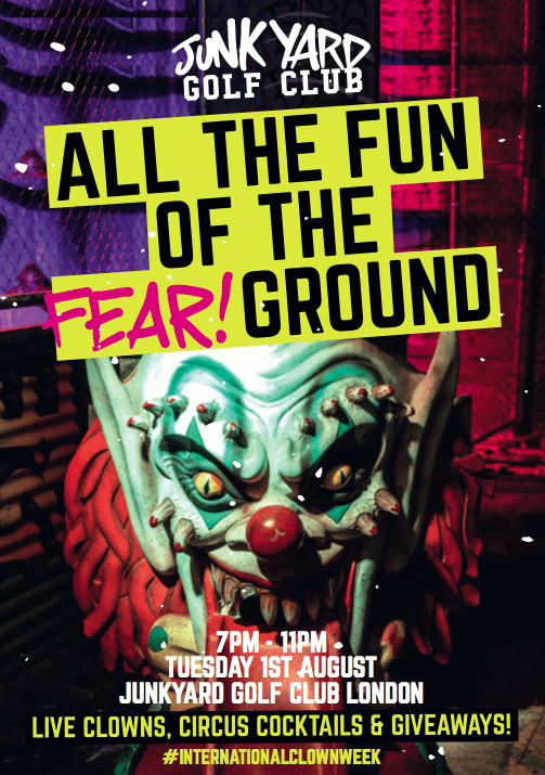 The Fear Ground Comes To Junkyard Golf Club For #InternationalClownWeek 17