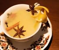 festive gin cocktail