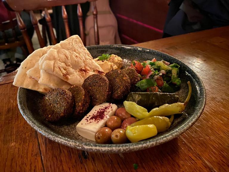 Palestinian Plate