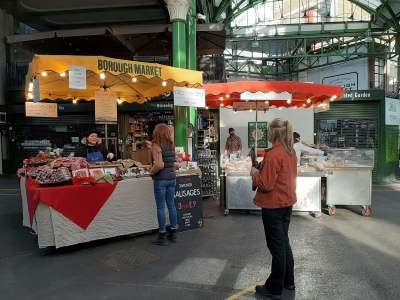 Capital's food favourites return to Borough Market 18