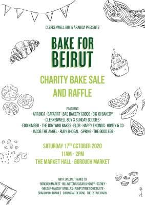 Borough Market Hosts 'Bake for Beirut' Fundraiser 20