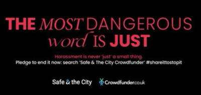 Harassment just needs to stop. Help Safe & the City do that! 19