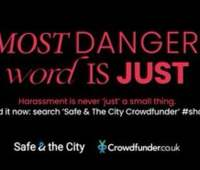 Harassment just needs to stop. Help Safe & the City do that! 3