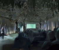 Are you brave enough to enter the Forbidden Forest Cinema? 1