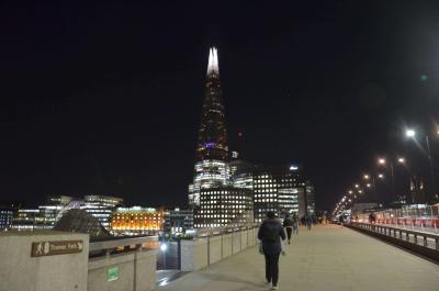 London bridge just before the first lockdown