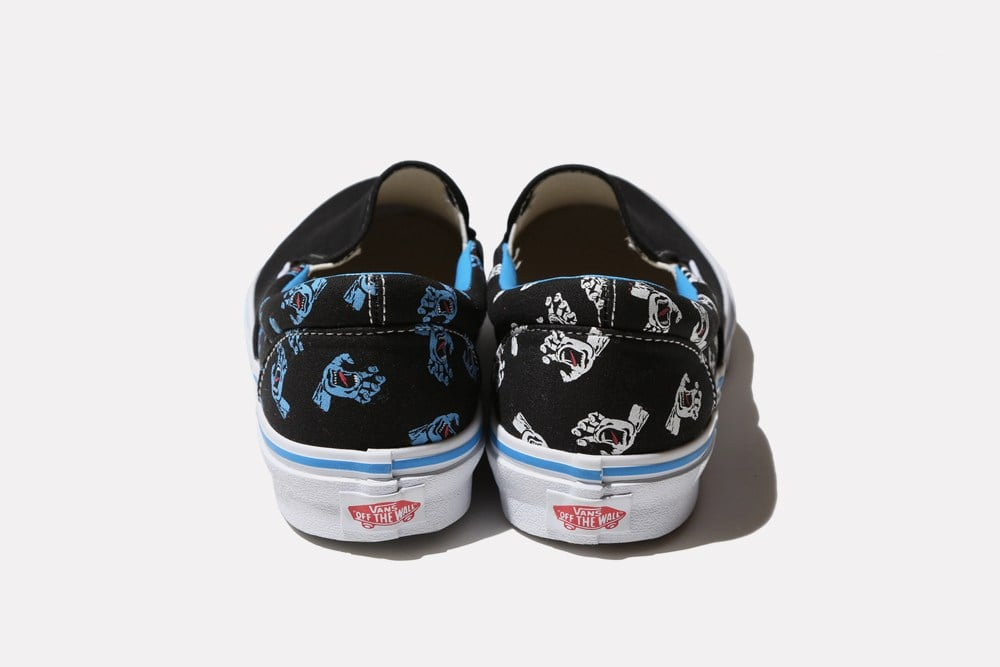 # Vans x Santa Cruz:Screaming Hand 30週年聯名限量款! 2