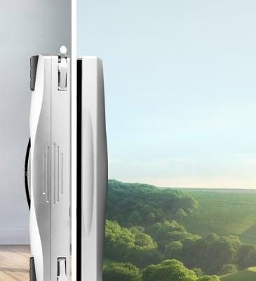 # 落地窗剋星 EDAS R-100:有了擦窗機器人窗外髒污靠邊閃! 3