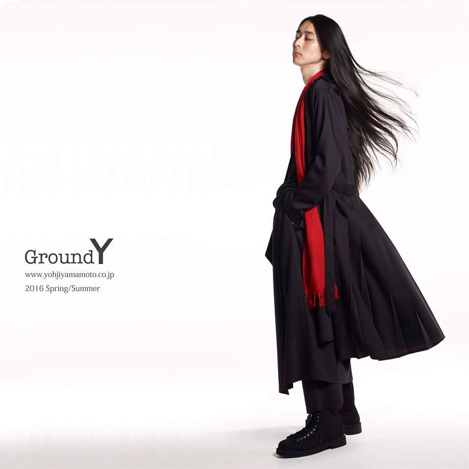 # Ground Y 二度合作 Leslie Kee:邀日本個性新星演繹16 SS中性時裝! 4