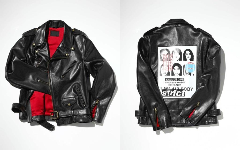 # The Black Leather Jacket 愛滋慈善拍賣:Barneys 攜手設計師黑色皮衣創作 1