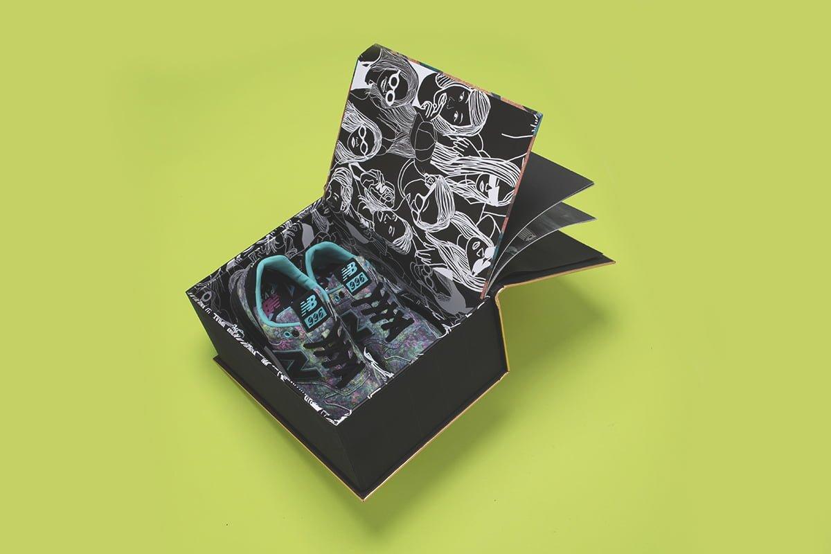 # P.V.S X New Balance MRL996PV 聯乘之作:粉嫩充滿光影與柔美畫風與鞋款精彩融合 7