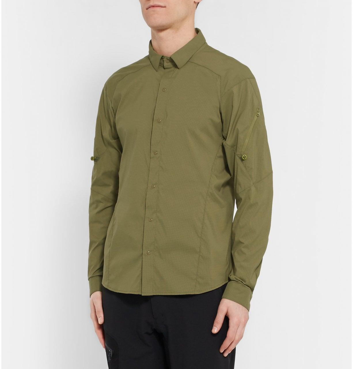 # 輕薄耐磨: ARC'TERYX 推出的戶外專用Elaho襯衫 1