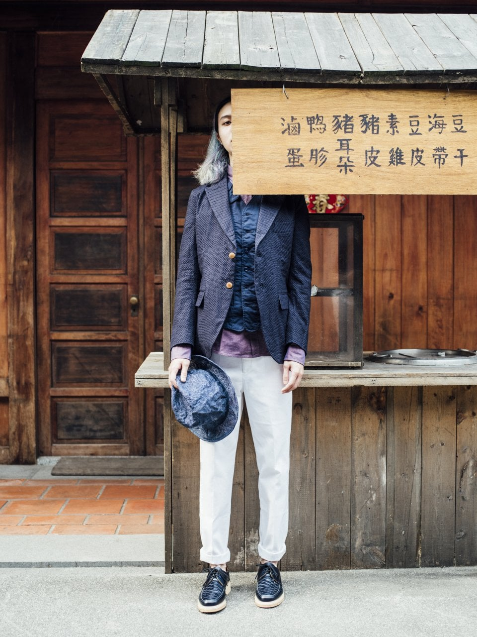 # 東區頂天選貨店 Hotel V請來攝影師 李子仁:拍攝 Treasure maps形象系列 4