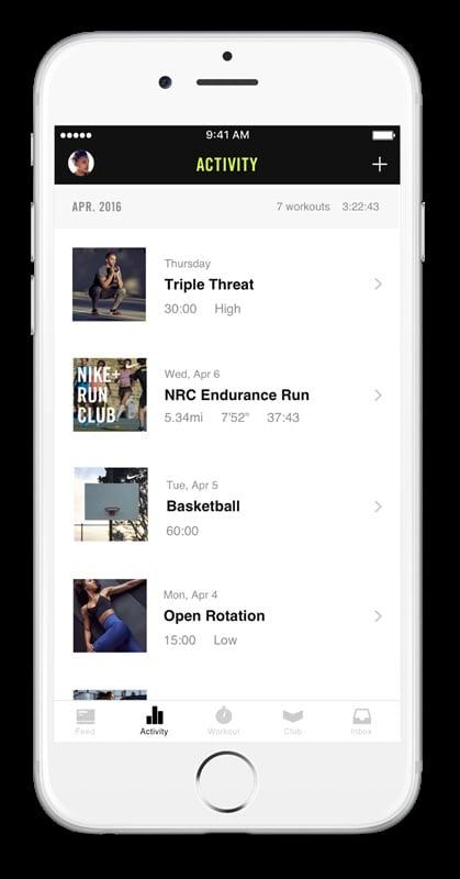 # 重新設計的 Nike+ Training Club:讓健身計劃更有效率! 5
