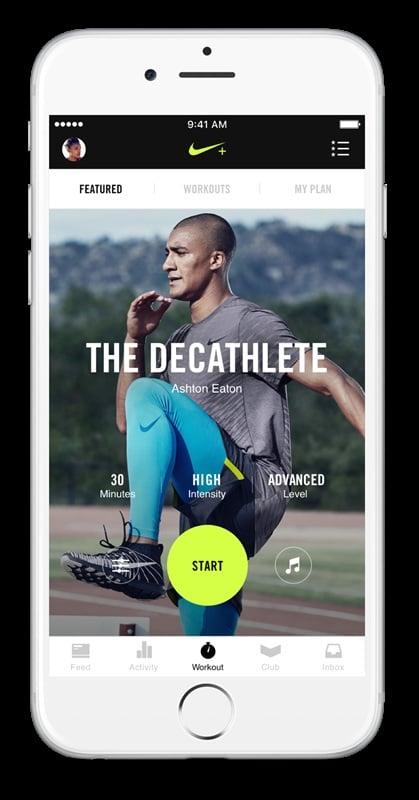 # 重新設計的 Nike+ Training Club:讓健身計劃更有效率! 4