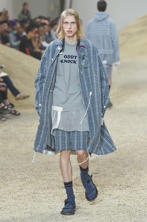 # Sacai 2017男裝春夏新款 :以不同面料打造出前衛自我感 31