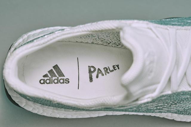 # adidas X parley: 海洋廢棄物環保再生機能跑鞋 5