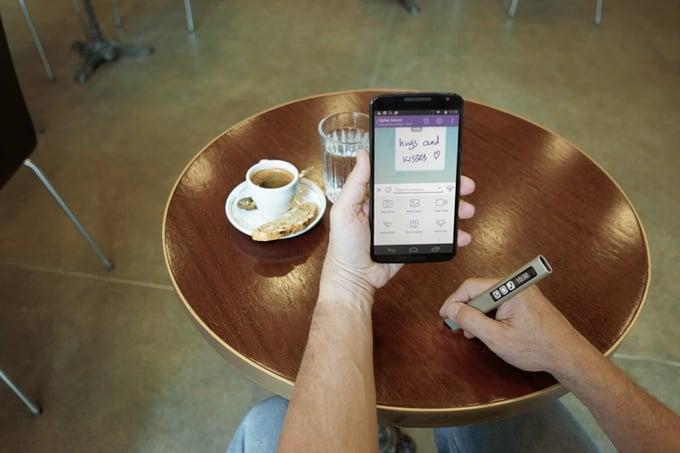 # 隨時隨地都可以寫字:不用墨水的電子筆 Phree 3