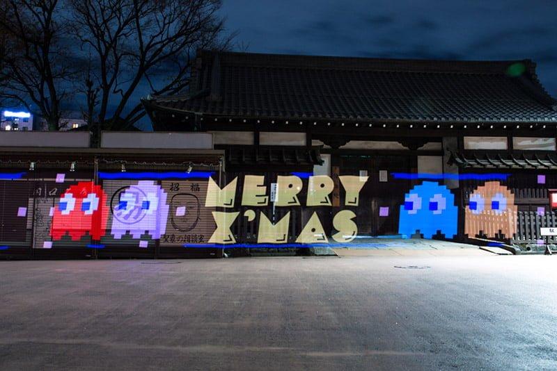 #小精靈狂奔淺草街頭:用Pac-Man形狀人力車造勢! 2