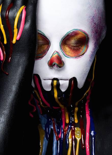 #Face Painting:驚人的日本波普藝術 1