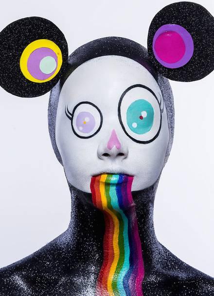 #Face Painting:驚人的日本波普藝術 6
