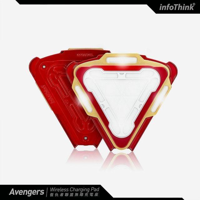 # InfoThink × 復仇者聯盟:iPhone X 也能使用的 Qi 無線充電座 4