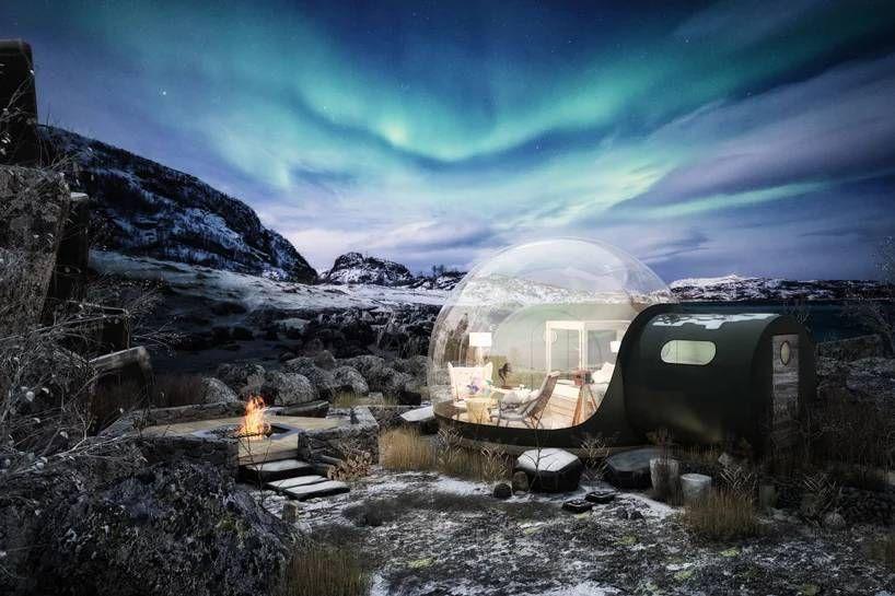 # 360 度全透明泡泡小屋仰望浩瀚星空夜景:就在北愛爾蘭的芬恩湖度假村上 6