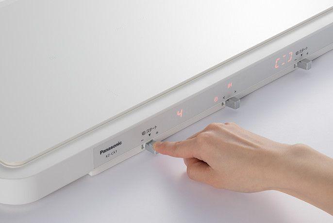 # 便利的業界首創 IH 雙口電磁爐:Panasonic KZ-CX1 3