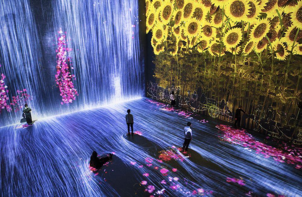 # 如夢似幻般的互動數位藝術展「Beyond the limits」:於巴黎 La Villette 公園展出 1