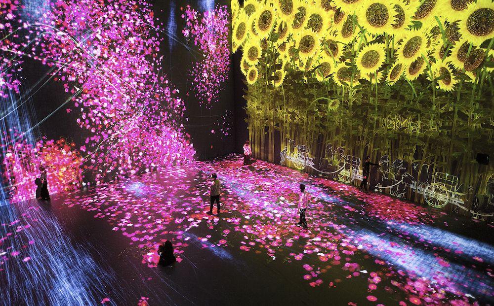 # 如夢似幻般的互動數位藝術展「Beyond the limits」:於巴黎 La Villette 公園展出 5
