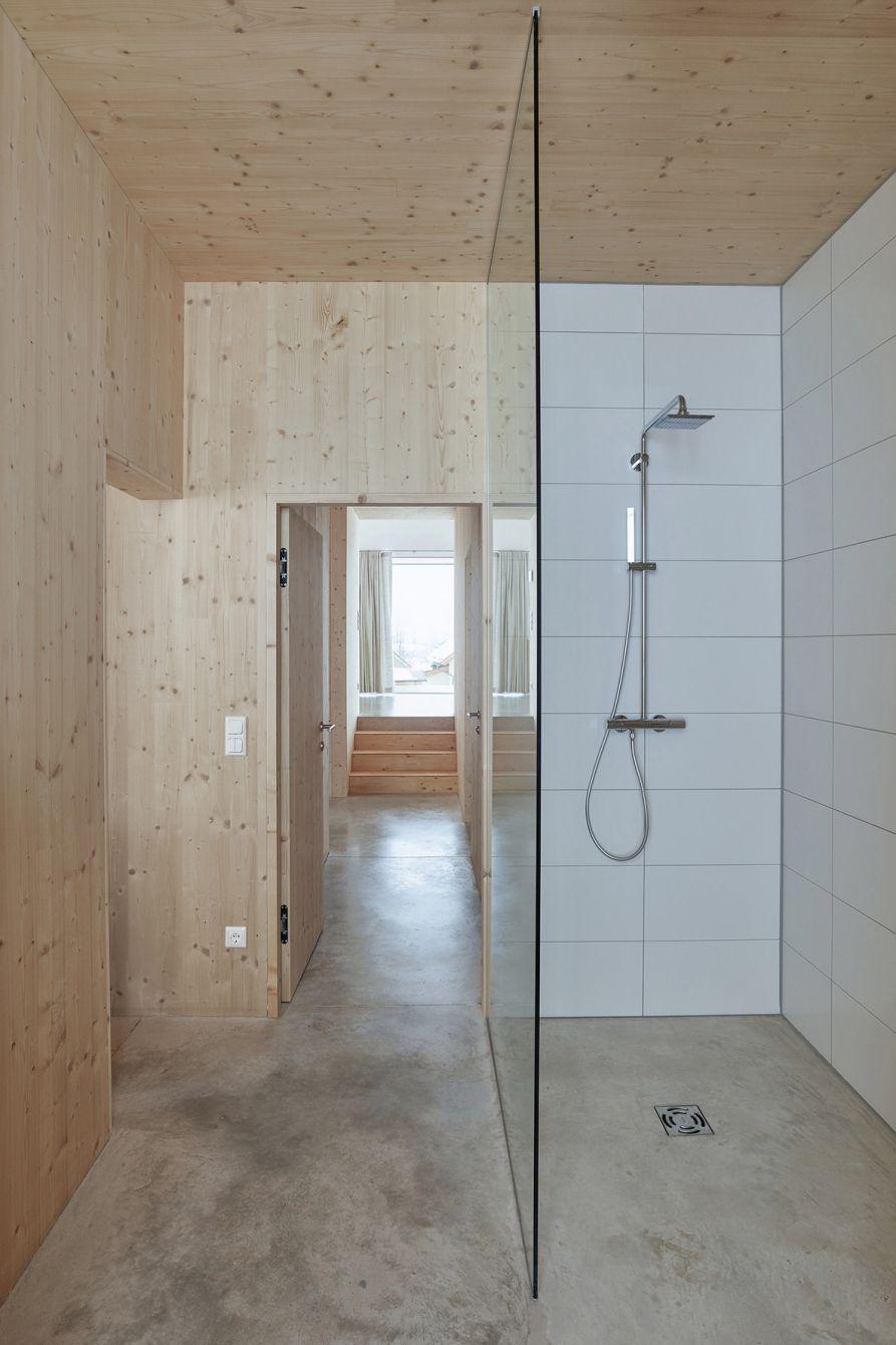 # House With Gable:位於奧地利山區的極簡風格住宅 8