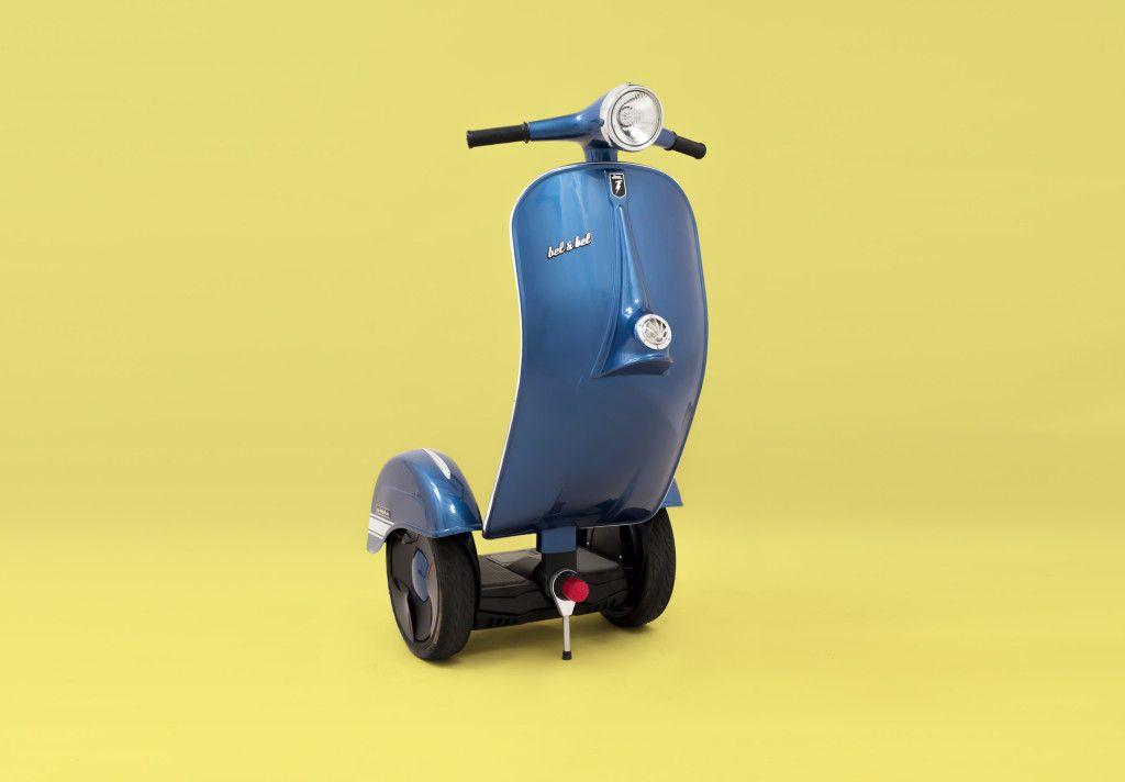 # Z-Scooter:酷似偉士牌的電動車?科技與復古碰撞之火花! 5